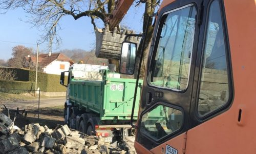 demolition annecy